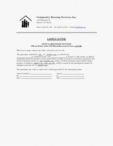 30 Day Notice to Vacate Letter Template - Tenancy Notice Letter Template Examples