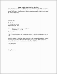 30 Day Notice to Vacate Letter Template - 52 Cute Pics Notice Letter to Tenant to Move Out