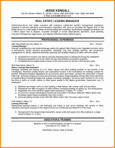 407 Letter Template - Management Cover Letter New Sample Resume for Property Manager Bsw