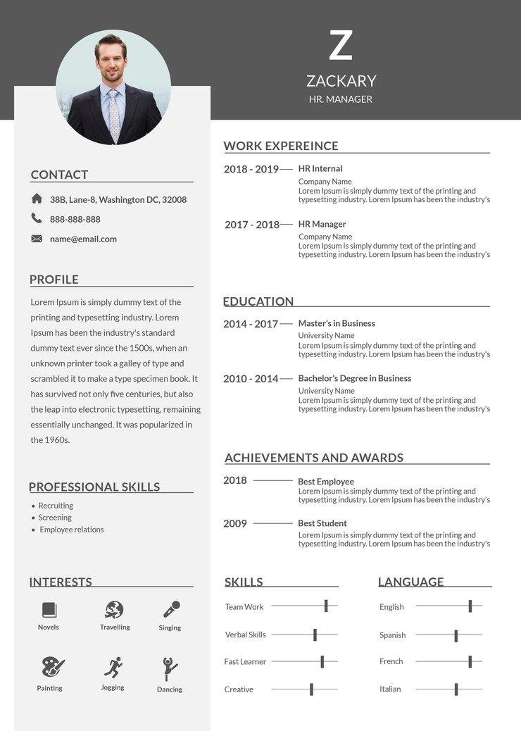 cv sample for teaching job  database  letter templates