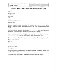 Abnormal Lab Results Letter Template - Best S Of Medical Follow Up Letter Template Patient Reminder