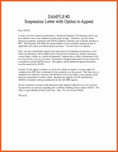Academic Dismissal Appeal Letter Template - Amazon Appeal Letter Template Samples