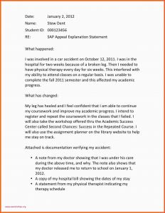 Academic Dismissal Appeal Letter Template - How to Write An Appeal Letter for University Rejection Application