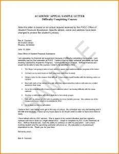 Academic Dismissal Appeal Letter Template - Dismissal Letter Template Collection
