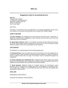 Accounting Engagement Letter Template - Sample Business Valuation Engagement Letter Full Drawing Accounting