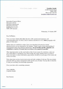 Acting Cover Letter Template - Acting Cover Letter Template Examples