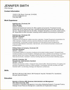 Administrative Cover Letter Template - Personal assistant Cover Letter Template Gallery