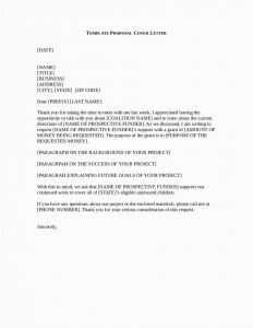 Adverse Action Letter Template - 22 Grant Proposal format Download