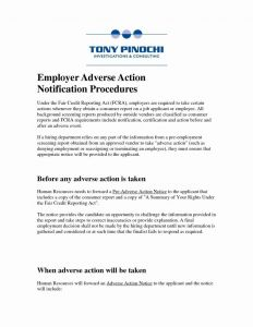 Adverse Action Letter Template - Letter Template for Job Reference New Sample Reference Letters for