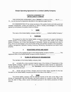 Agreement Letter Between Two Parties Template - Letter Agreement Template Free Collection