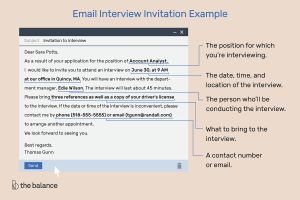 Alpha Loom Letter Template - Email Interview Invitation Example