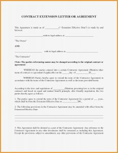 Amendment Letter Template - Addendum to Fer Letter Template Examples