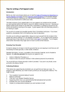 Appeal Decision Letter Template - Dispute Letter Template Fresh How to Write A Good Appeal Letter for