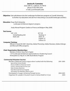 Architecture Cover Letter Template - Architecture Cover Letter Unique Cover Letter Sample for Job It