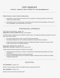 Athletic Sponsorship Letter Template - athletic Director Cover Letter and Resume Examples