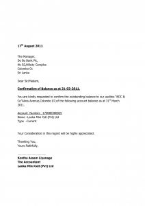 Audit Confirmation Letter Template - Letter format Audit Confirmation Resize C1499 Bank Balance
