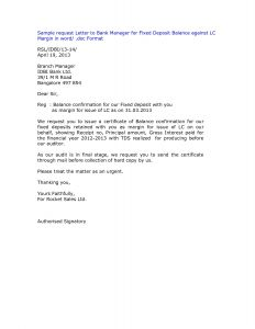 Audit Confirmation Letter Template - Audit Confirmation Letter Template Samples