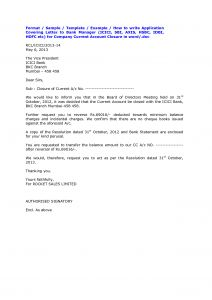 Audit Confirmation Letter Template - Bank Account Closing Letter format Sample Cover Templates From
