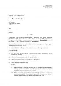 Audit Confirmation Letter Template - Audit Confirmation Letter Template Inspirational Guarantee