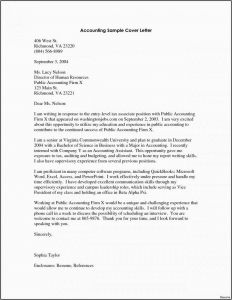 Audit Letter Template - 24 Cv Cover Letter Example Free Download
