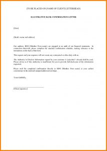 Audit Response Letter Template - Audit Confirmation Letter Template Samples