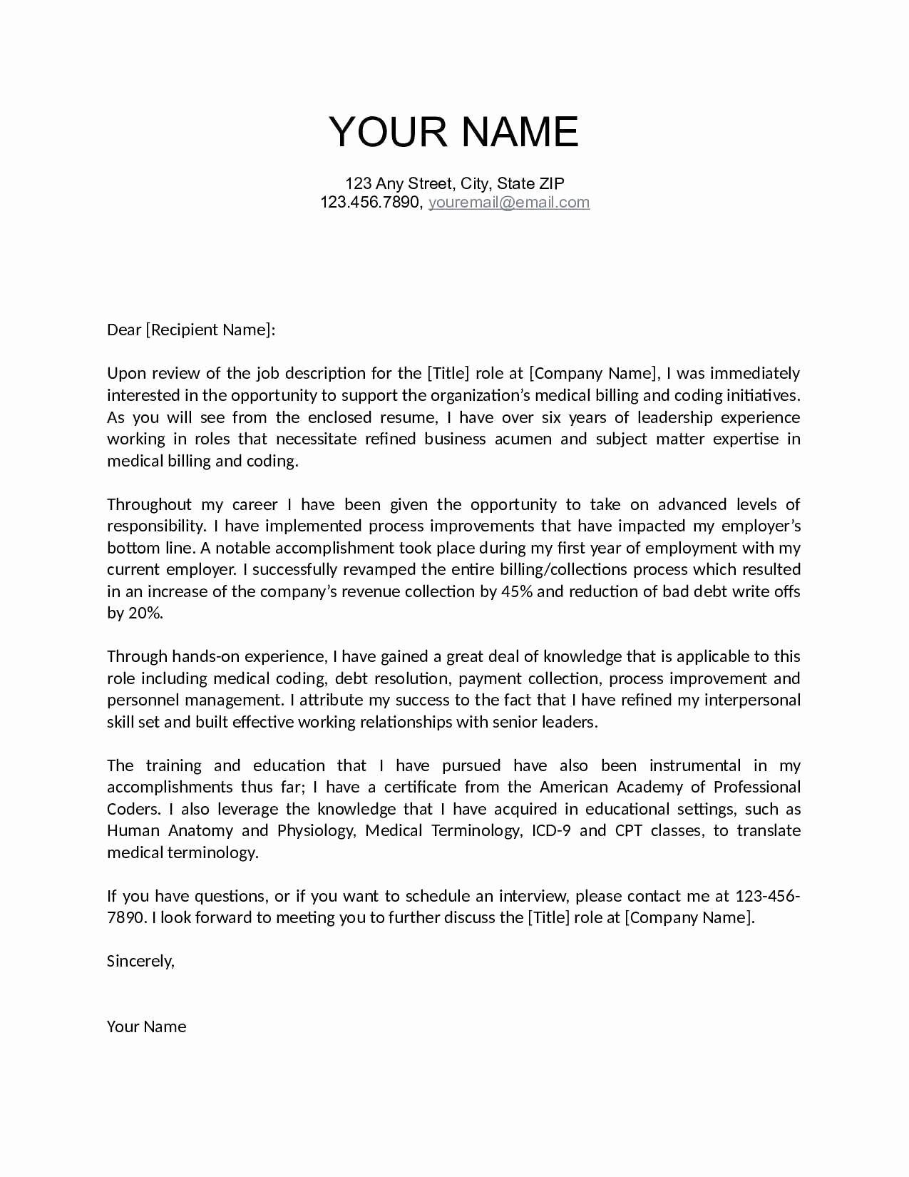 bad news letter template Collection-Writing A Cover Letter Template Writing A Good Cover Letter Beautiful Cover Letter Overseas Job 1-q