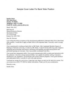 Bank Teller Cover Letter Template - Pin by Jessica Pena On Life Ha Pinterest