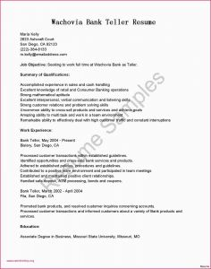 Bank Teller Cover Letter Template - Cover Letter Sample for Bank Teller with No Experience 17 Citibank