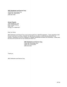 Banning Letter Template - 1099 Correction Letter Template Samples