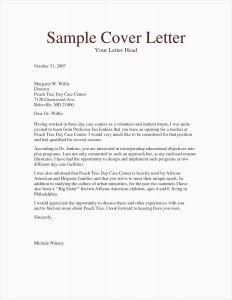 Basic Cover Letter Template - 29 Sample Cover Letter 2018
