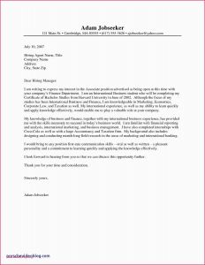 Best Cover Letter Template - Sample Application Letter for Employment Job Application Cover