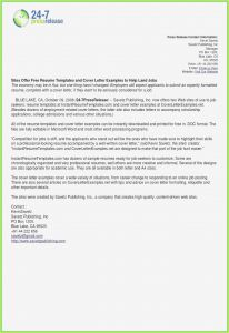 Best Free Cover Letter Template - Great Resume Cover Letter Examples