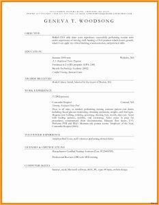 Blank Cover Letter Template - Pastor Resume Templates Free Fresh Blank Resume format Resume