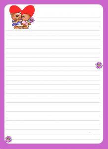 Blank Love Letter Template - Blank Love Letter Template New V0 Love Letter Template Kishsafar