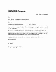 Breaking Lease Letter Template - Termination Rental Agreement Letter Template Collection