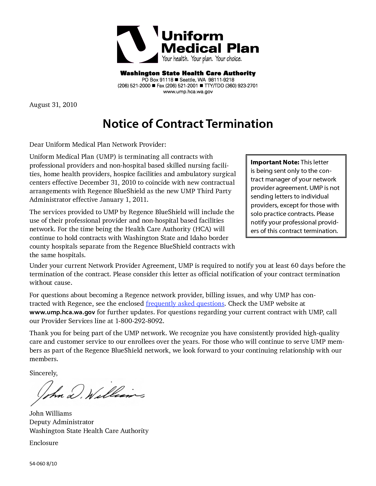19 Business Contract Termination Letter Template Examples Letter
