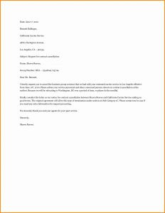 Business Contract Termination Letter Template - Business Contract Termination Letter Template Downloadable How to
