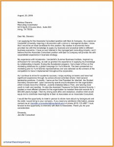 Business Cover Letter Template - Business Presentation Letter Template Fresh Modern Cover Letter