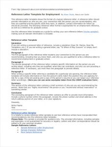 Business Letter Of Recommendation Template - Business Reference Letter Template Examples