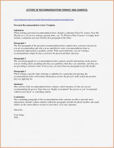 Business Reference Letter Template - Business Re Mendation Letter Template top Best Business Reference
