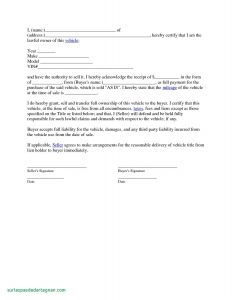 Car Sale Letter Template - Letter Agreement Template Between Two Parties Collection