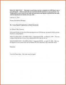 Cash Out Refinance Letter Template - Cash Out Refinance Letter Template Examples