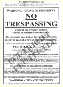 Cease and Desist Trespassing Letter Template - No Trespassing Warning Letter New Cease and Desist Trespassing