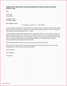 Change Of Ownership Letter to Tenants Template - Example Letter to Vacate Rental Property 30 Day Notice to Vacate
