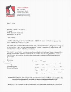 Charitable Contribution Letter Template - 25 Free Sample Sponsorship Letter for Donations format