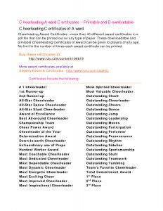 Cheerleading Sponsorship Letter Template - Cheerleading Awards Google Search Cheer Banquet
