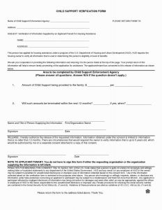 Child Support Modification Letter Template - 34 Best Child Support Response Letter Sample