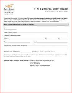 Church Donation Letter for Tax Purposes Template - Donation Receipt Letter Template Sample