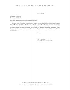 Church Letter Template - Resignation Letter Template Word Free Download