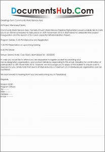 Church Welcome Letter Template - Church Wel E Address Examples Admirably Reply to Invitation for